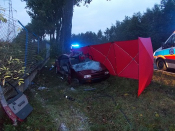 Tragiczny wypadek w Kleczewie. Nie żyje 34-letni mężczyzna
