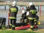 Strażacy ochotnicy ćwiczyli w ośrodku wypoczynkowym w Gosławicach