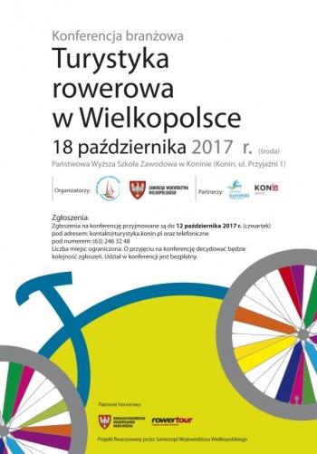 Konin. Turystyka rowerowa w Wielkopolsce. Konferencja branżowa