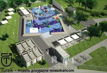 Nowa miejska atrakcja w Turk. Za rok powstanie Wodny Plac Zabaw