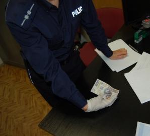 Koło. Drukowały banknoty na drukarce i chciały nimi płacić w sklepach