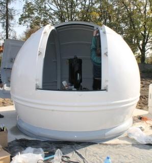 Turek. Przy szkole stanęło małe obserwatorium astronomiczne
