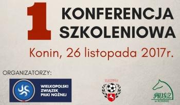 OZPN Konin. Konferencja szkoleniowa dla trenerów i nauczycieli