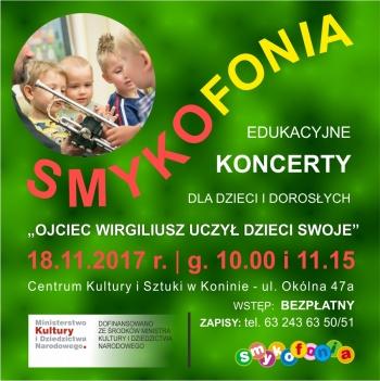 SMYKOFONIA - edukacyjne koncerty