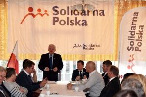 Solidarna Polska na zjeździe regionalnym w Koninie. Są delegaci
