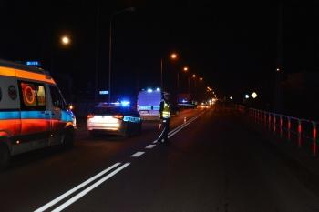 Konin. Policjanci skontrolują kierowców, rowerzystów i pieszych