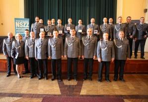"""Konińscy policjanci w gronie laureatów """"Kryształowej Gwiazdy"""""""