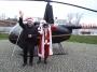 Konin. Święty Mikołaj przyleciał na bulwar śmigłowcem