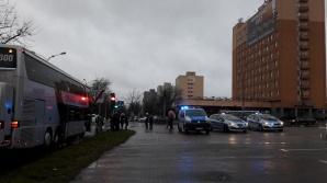 Konin. Wypadek na Dworcowej. Biegł za odjeżdżającym autobusem