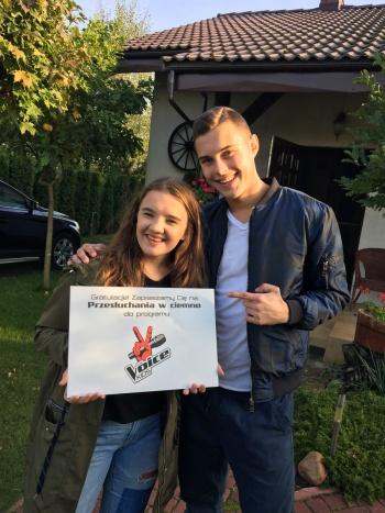 """Z Konina do telewizji. Julia Wasielewska w """"The Voice Kids"""""""