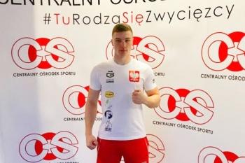 Mateusz Goiński wyjedzie na zgrupowanie szkoleniowe do USA