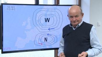 Pogoda według Kazimierza Gmerka. Kolejny zimny weekend