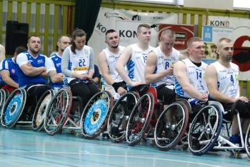 Polska Liga Koszykówki na Wózkach. Trzy mecze w Koninie