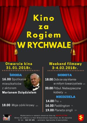 """Rychwał. Gościem otwarcia """"Kino za rogiem"""" będzie Marian Dziędziel"""