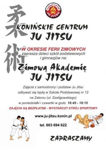 Zimowa Akademia Ju-Jitsu. Bezpłatne zajęcia dla dzieci podczas ferii
