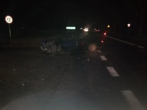 Wypadek na drodze krajowej nr 92 w Krzykosach, w gminie Kłodawa