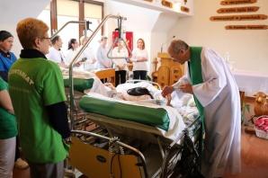 Licheń. Światowy Dzień Chorego w hospicjum na terenie sanktuarium