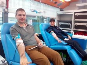 Krew dla życia. Policjanci zorganizowali zbiórkę cennego leku