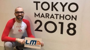 """Marcin Janiak - """"Prawnik w biegu"""" tuż przed maratonem w Tokio"""