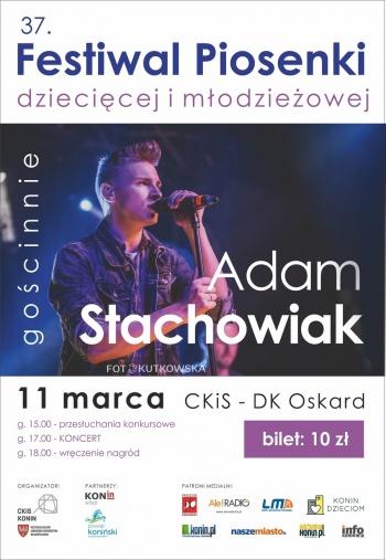 37. FESTIWAL PIOSENKI + koncert akustyczny Adama Stachowiaka