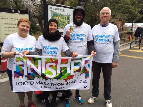Marcin Janiak przebiegł dla niepełnosprawnych maraton w Tokio