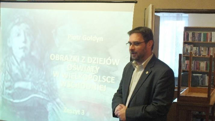 Obrazki z dziejów oświaty w Wielkopolsce Wschodniej P. Gołdyna
