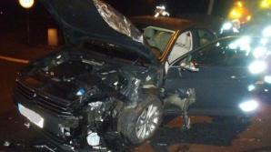 Ciężarówka wojsk amerykańskich zderzyła się z autem osobowym