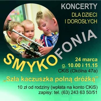 SMYKOFONIA - koncerty dla dzieci i dorosłych
