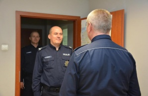 Z zastępcy naczelnika na komendanta komisariatu policji w Golinie