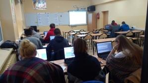 Uczniowie z Konina i Żychlina na praktykach w ramach projektu