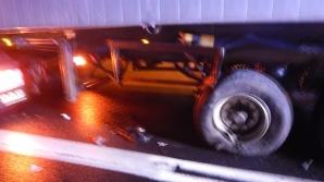 Wypadek w Brdowie. Samochód osobowy zderzył się z ciężarówką