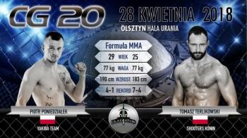 Tomasz Terlikowski wystąpi w rodzinnym Olsztynie na gali CG 20