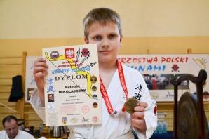 Karatecy z powiatu konińskiego na otwartych mistrzostwach Polski