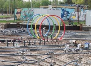 Trwa budowa wodnego placu zabaw w Turku. Gotowy na wakacje