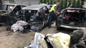 """Koło. W """"dziupli"""" zatrzymano sprawców przestępczości samochodowej"""