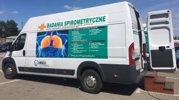 Spirobus przyjedzie do Konina. Będą w nim badać wydolność płuc