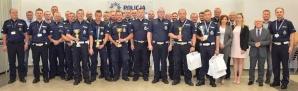 Najlepszym policjantem ruchu drogowego jest mundurowy z Turku