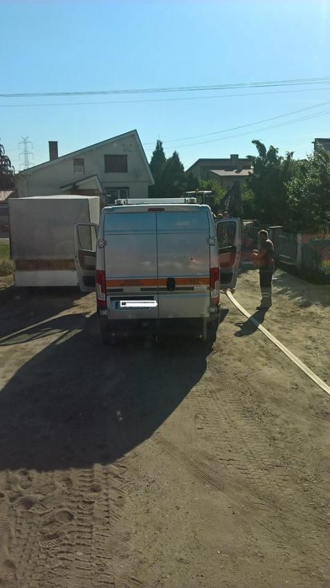 Uszkodzony gazociąg w Golinie. Zagrożenie udało się opanować