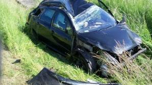 Słupca. Wypadek na A2. Zasnął za kierownicą i zjechał do rowu