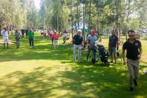Golfiści rozegrali turniej klubowy. Najlepsi Kłosiński i Tralewski