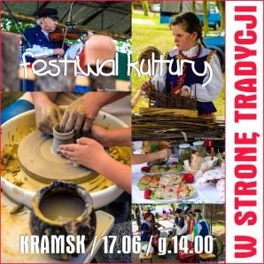 """Festiwal Kultury """"W stronę tradycji"""" - kapele, zespoły, kiermasz rękodzieła, tradycyjne potrawy"""
