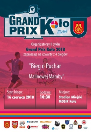 Sportowy weekend: Ostatni bieg z cyklu Grand Prix Koło 2018