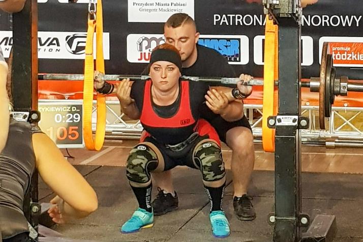 Daria Walczykiewicz wicemistrzynią Europy w trójboju siłowym!