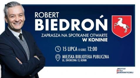 O tym, co ważne w naszych miastach. Robert Biedroń w Koninie