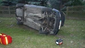 Groźny wypadek w Słowikowie. Na szczęście nikt nie ucierpiał