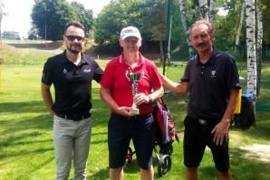 Golf. Zagrali w IV Turnieju Klubowym. Wygrali Zbyszewski i Cepiński