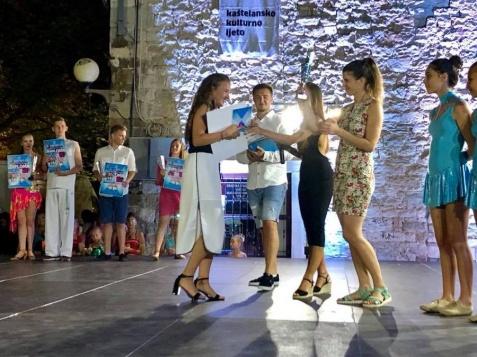 Julia Wasielewska laureatką festiwalu talentów w Chorwacji