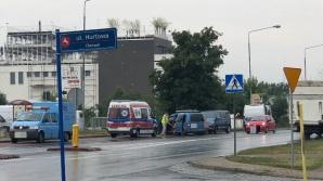 Konin. Uderzył w samochód PWiK-u. Kolizja na ul. Poznańskiej