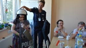 Policja o bezpieczeństwie w Środowiskowym Domu Samopomocy