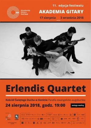 ERLENDIS QUARTET - koncert w ramach Akademii Gitary